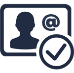 email verify icon email symbol